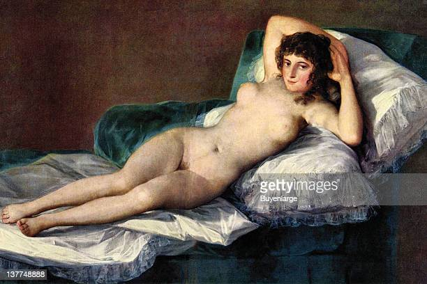 Francisco Goya's The naked Maja 1776