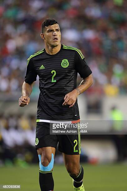 Francisco Javier Rodriguez of Mexico during the 2015 CONCACAF Gold Cup Final match between Jamaica and Mexico at Lincoln Financial Field on July 26...