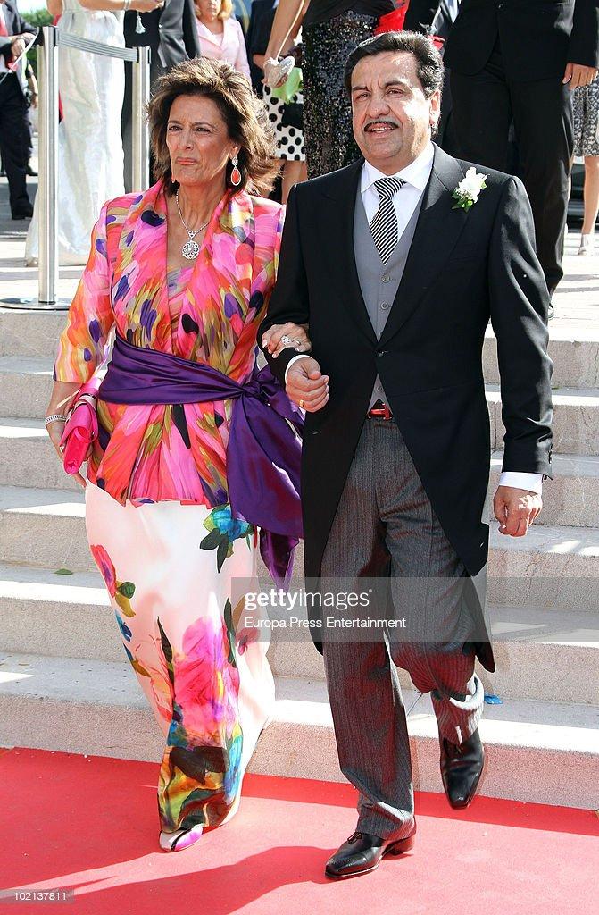 Francisco Martinez attends the wedding of Manuel Colonques, son of the president of Porcelanosa company, and Cristina Babiloni on June 11, 2010 in Castellon de la Plana, Spain.