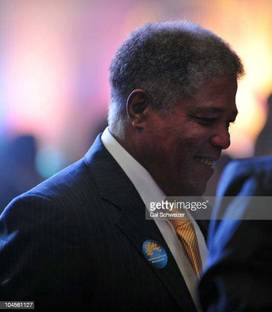 Francisco Maturana manager of Colombian national football team during the launching ceremony for the men's football 2011 U20 FIFA World Cup in Bogota...