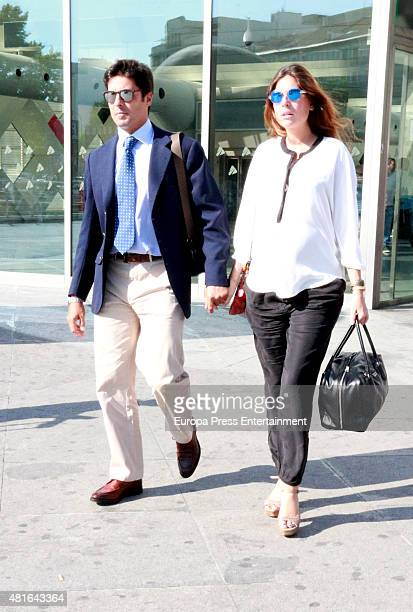Francisco Rivera and Lourdes Montes are seen on July 22 2015 in Madrid Spain