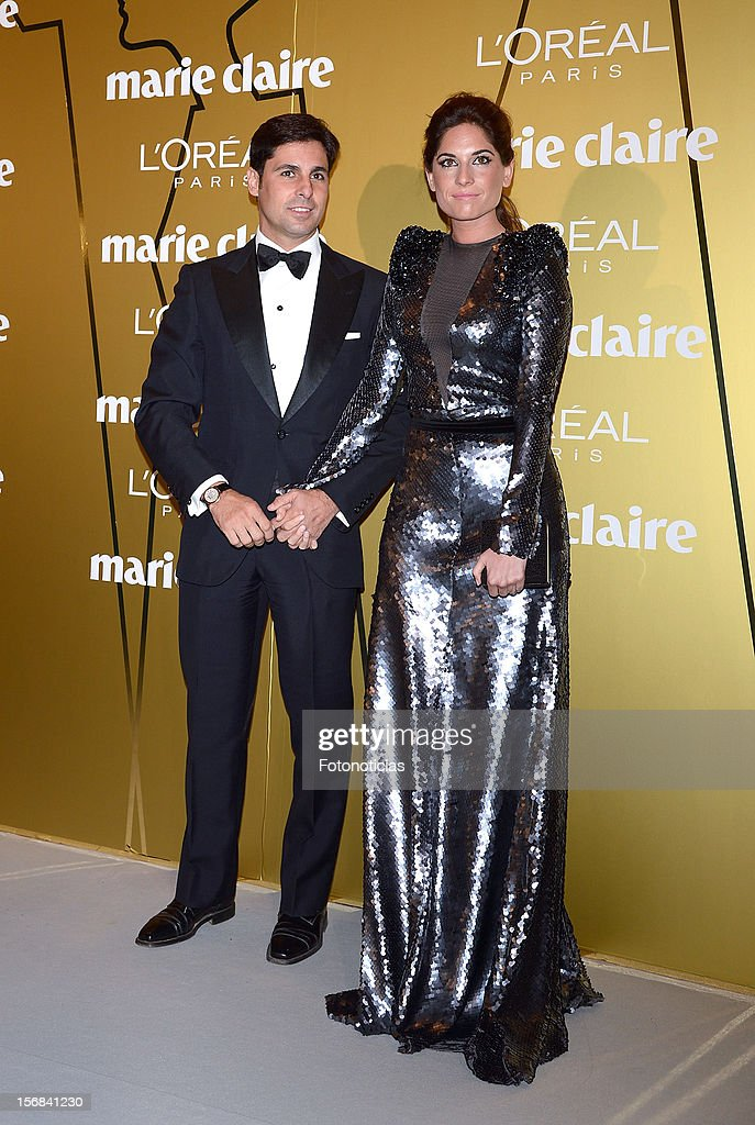 Francisco Rivera (L) and Lourdes Montes attend 'Marie Claire Prix de la Mode 2012' ceremony at the French Ambassadors Residence on November 22, 2012 in Madrid, Spain.