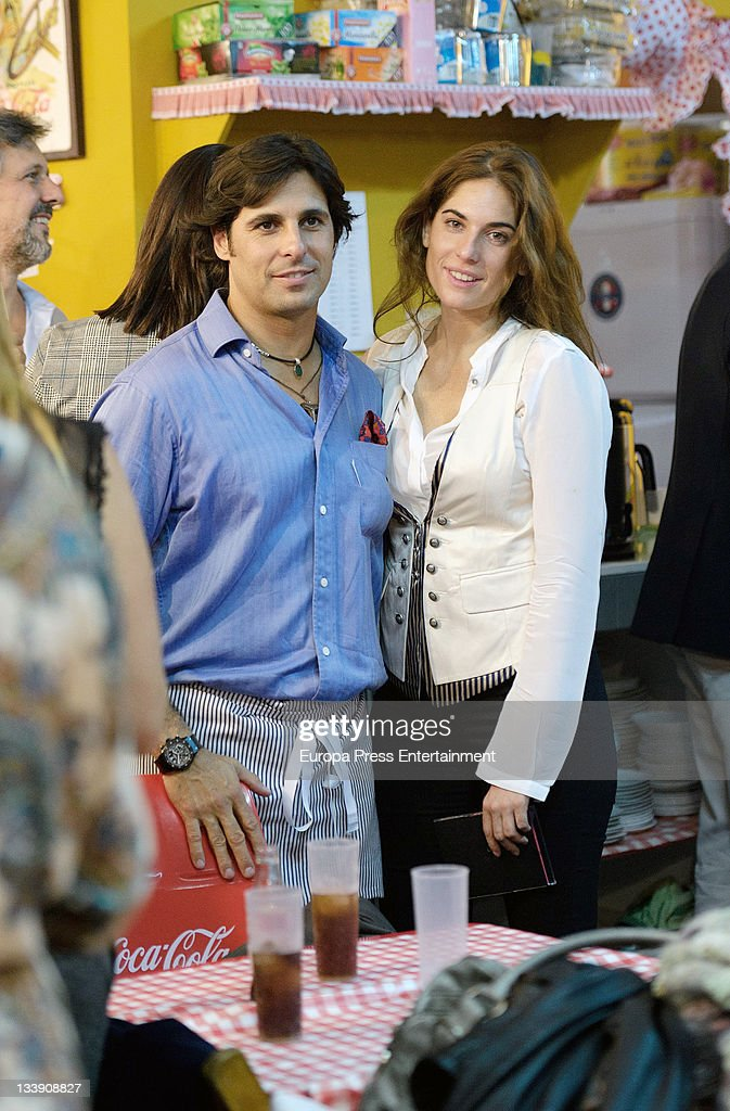 Francisco Rivera and Lourdes Montes attend 'Rastrillo Nuevo Futuro' at La Pipa in Casa de Campo on November 21, 2011 in Madrid, Spain.