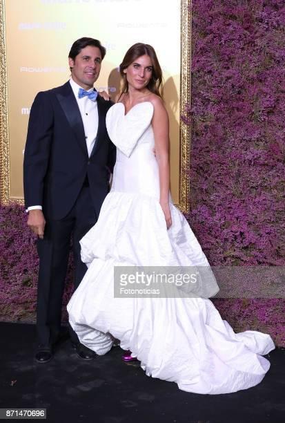 Francisco Rivera and Lourdes Montes attend the 2017 'Marie Claire Prix de la Mode' at Florida Retiro on November 7 2017 in Madrid Spain