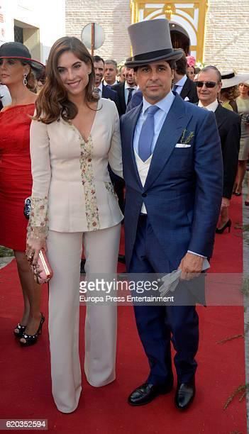 Francisco Rivera and Lourdes Montes attend the wedding of Diego Ventura and Rocio Perez on October 29 2016 in La Puebla del Rio Spain