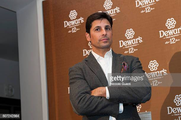 Francisco Rivera at the presentation of Dewar's 12 on January 28 2016 in Seville Spain