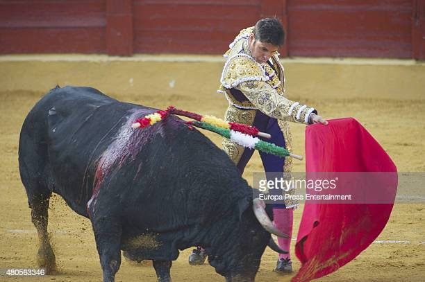 Francisco Rivera attends bullfighting on July 12 2015 in Estepona Spain