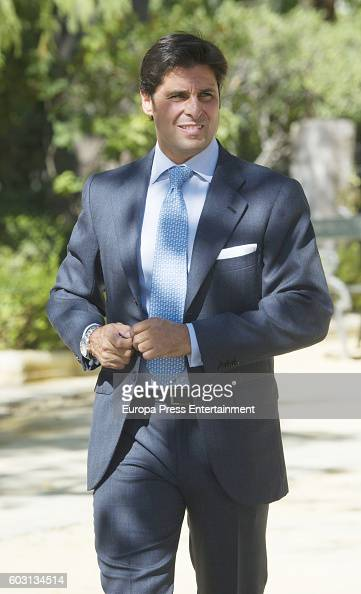 Francisco Rivera attends Goyesca Bullfights on September 10 2016 in Ronda Spain The bullfight events linked to The Feria Goyesca stem from the...