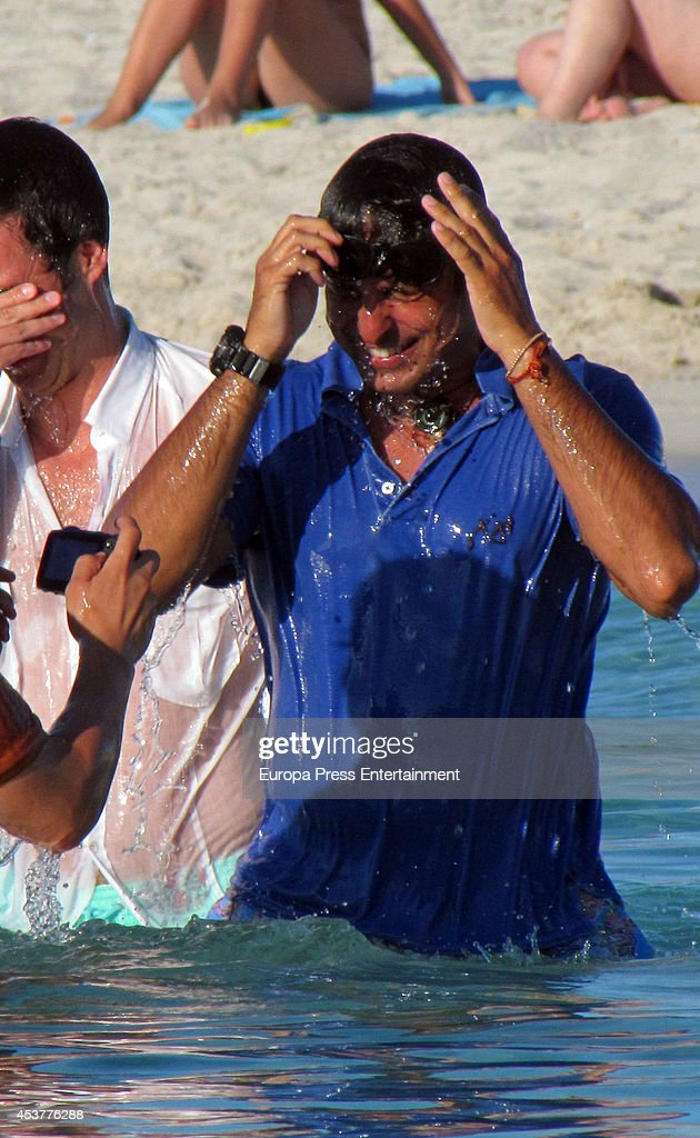 Francisco Rivera is seen on July 30 2014 in Formentera Spain