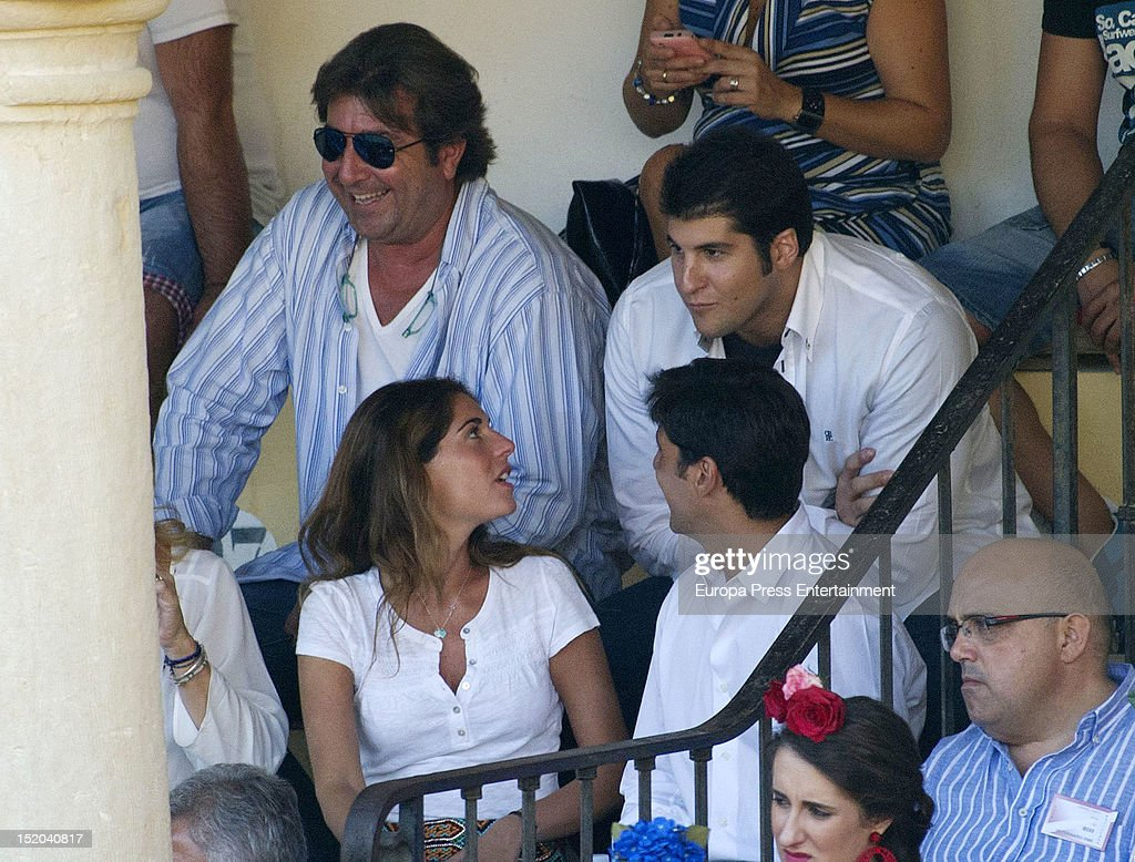 Francisco Rivera and Lourdes Montes Attend Bullfighting In Ronda - September 07, 2012