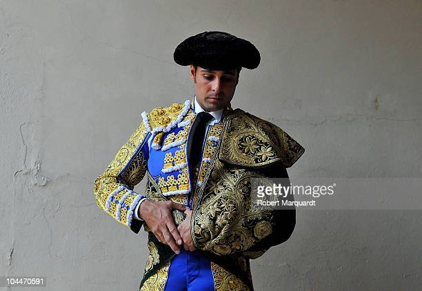 Francisco Rivera Ordonez 'Paquirri' performs at the Monumental bullring during the Feria de la Libertad Merce 2010 on September 26 2010 in Barcelona...