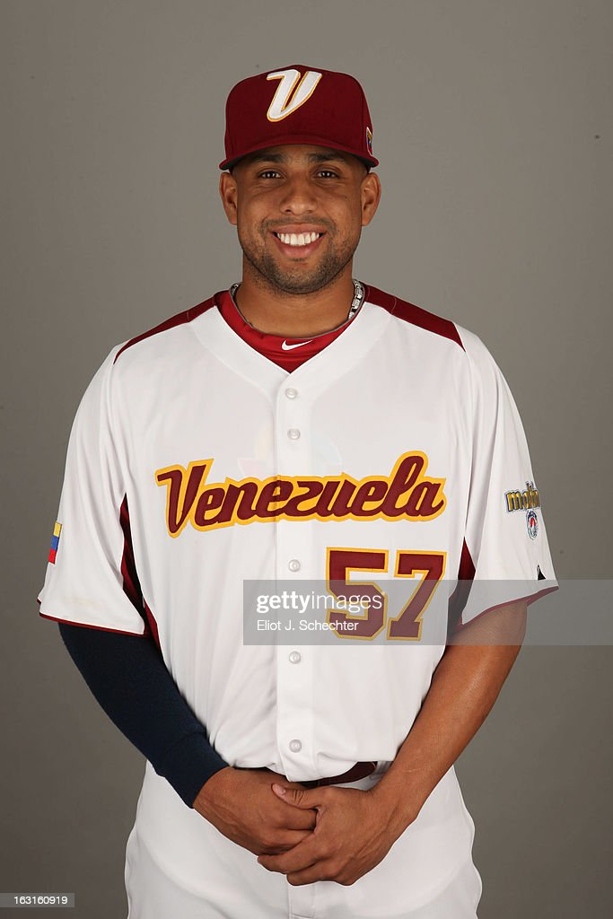 Francisco Rodriguez #57 of Team Venezuela poses for a headshot for the 2013 World Baseball Classic at Roger Dean Stadium on Monday, March 4, 2013 in Jupiter, Florida.