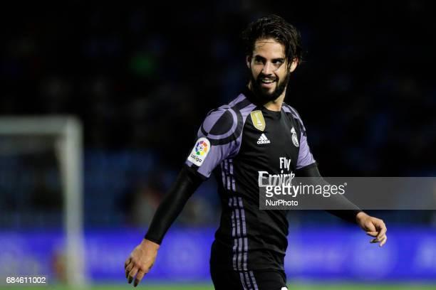 Francisco Roman quotIscoquot midfielder of Real Madrid during the La Liga Santander match between Celta de Vigo and Real Madrid at Balaidos Stadium...