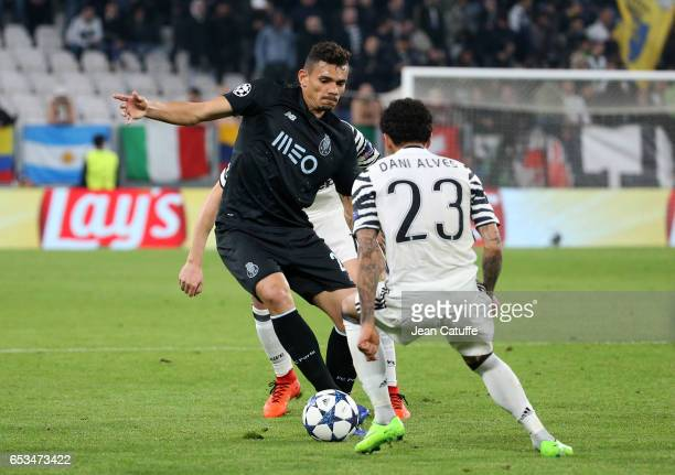 Francisco Soares of FC Porto in action during the UEFA Champions League Round of 16 second leg match between Juventus Turin and FC Porto at Juventus...