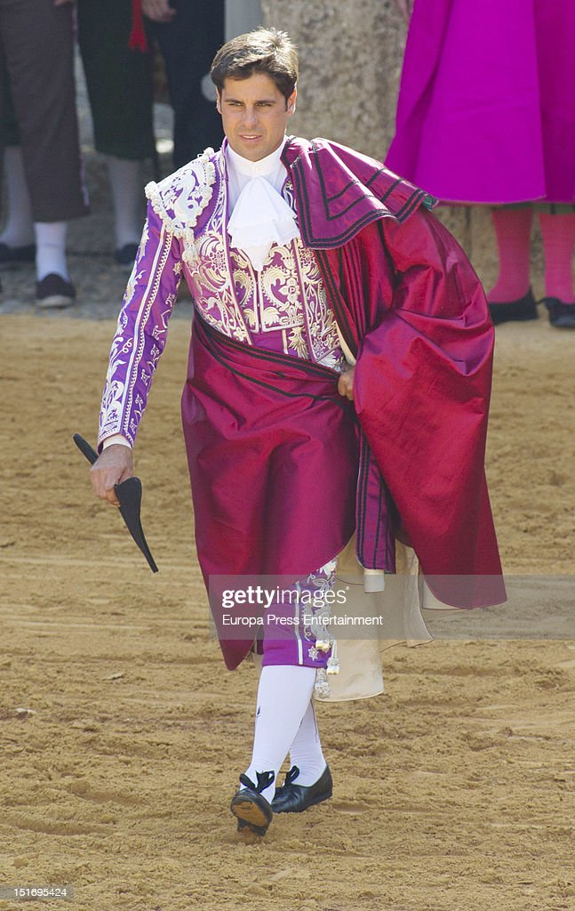 Franciso Rivera attends the 'Goyesca' Bullfights on September 8, 2012 in Ronda, Spain. The bullfight events, linked to The Feria Goyesca (Feria de Pedro Romero), stem from the inter-relationship of three main personae which spanned over three centuries, all of whom have strong connections to Ronda. These are the famous 18th century bullfighter, Pedro Romero; the 18th century Spanish painter, Francisco de la Goya; and also the 20th century bullfighter, Antonio Ordonez, to whom the vision of the Ronda's modern Feria Goyesca can be attributed.