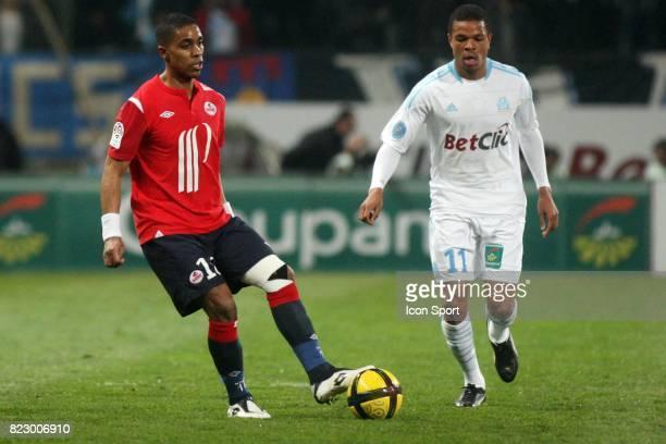 Franck BERIA / Loic REMY Marseille / Lille 26eme journee de Ligue 1 Marseille