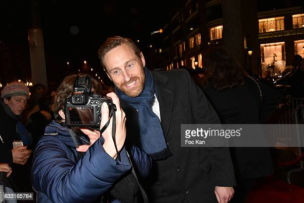 Franck Delay from former 2Be3 band attends Les Globes de Cristal Awards 11th Ceremony at Lido on January 30 2017 in Paris France