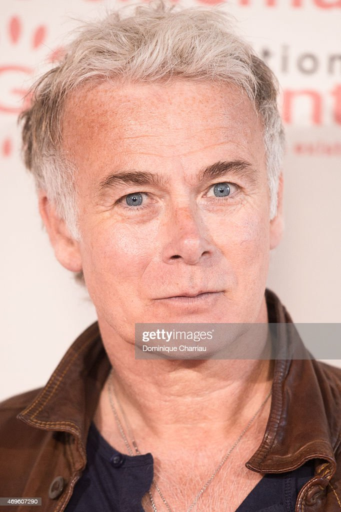 <a gi-track='captionPersonalityLinkClicked' href=/galleries/search?phrase=Franck+Dubosc&family=editorial&specificpeople=609327 ng-click='$event.stopPropagation()'>Franck Dubosc</a> attends the 120 Ans De Cinema, Gaumont, Depuis Que Le Cinema Existe' Exhibition Preview at CentQuatre on April 13, 2015 in Paris, France.
