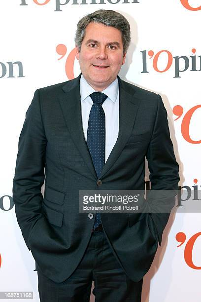 Franck Louvrier attends 'L'Opinion' Newspaper Launch Party on May 14 2013 in Paris France