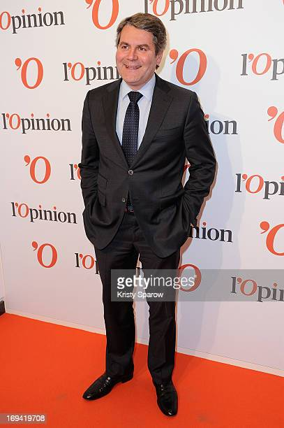 Franck Louvrier attends the 'L'Opinion' Newspaper Launch Party on May 14 2013 in Paris France