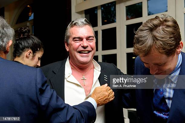 Franck Muller attends 'Unique Masterpieces' Dinner AT Marcus at The Ledbury Restaurant on July 3 2012 in London England