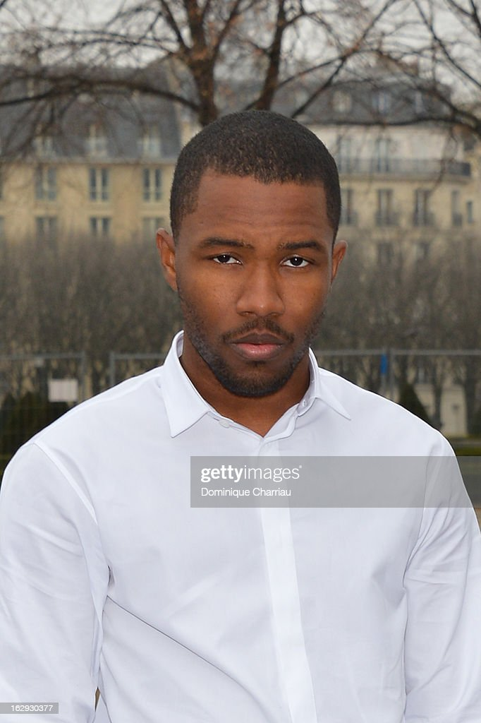 Franck Ocean arrives at the Christian Dior Fall/Winter 2013 Ready-to-Wear show as part of Paris Fashion Week on March 1, 2013 in Paris, France.