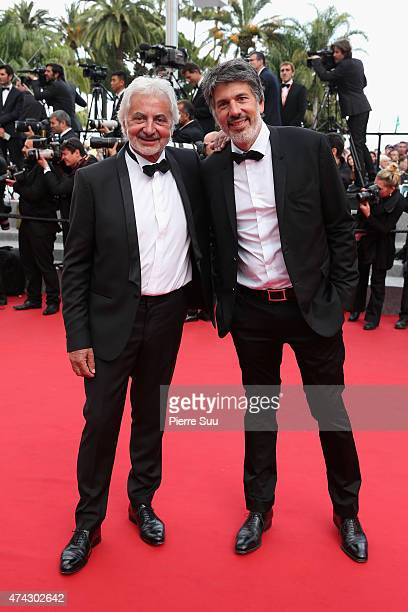 Franck Provost and Fabien Provost attend the Premiere of 'Dheepan' during the 68th annual Cannes Film Festival on May 21 2015 in Cannes France
