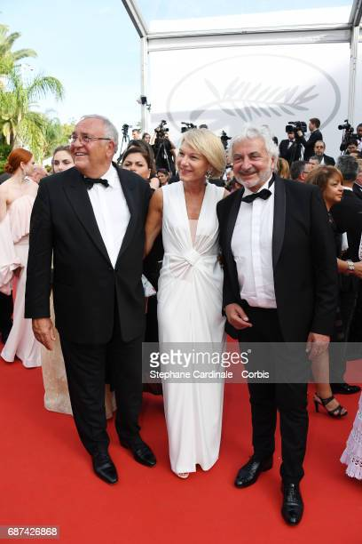 Franck Provost and guests attend the 70th Anniversary screening during the 70th annual Cannes Film Festival at Palais des Festivals on May 23 2017 in...
