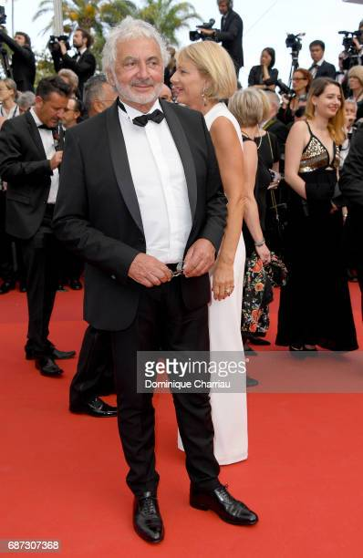 Franck Provost attends the 70th Anniversary screening during the 70th annual Cannes Film Festival at Palais des Festivals on May 23 2017 in Cannes...