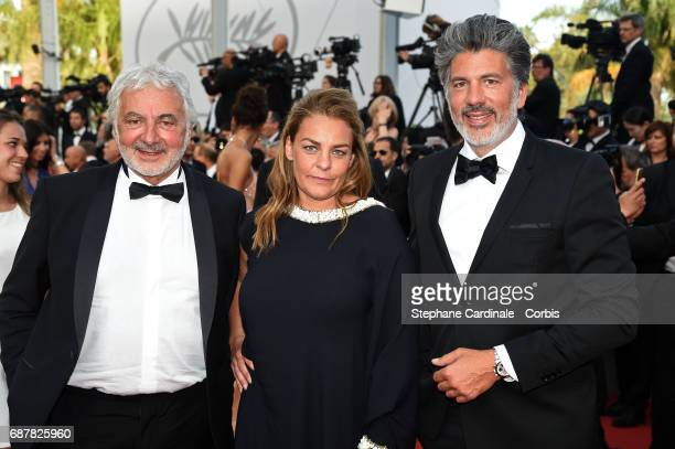 Franck Provost attends 'The Beguiled' premiere during the 70th annual Cannes Film Festival at Palais des Festivals on May 24 2017 in Cannes France