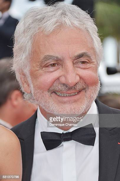 Franck Provost attends 'The BFG ' premiere during the 69th annual Cannes Film Festival at the Palais des Festivals on May 14 2016 in Cannes France