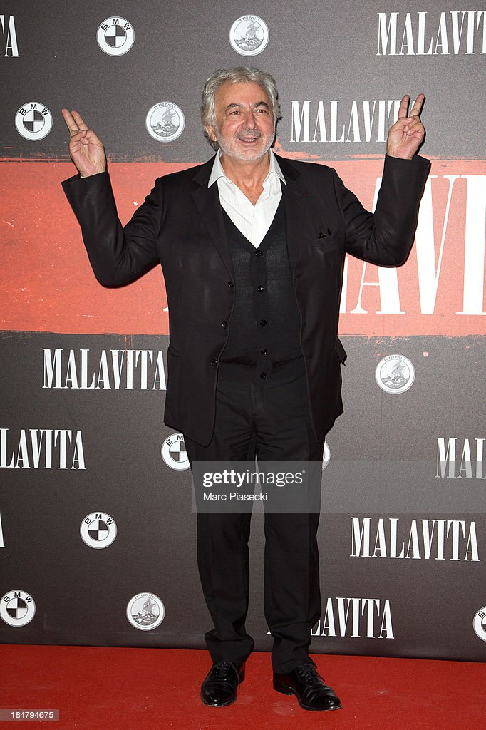 <a gi-track='captionPersonalityLinkClicked' href=/galleries/search?phrase=Franck+Provost&family=editorial&specificpeople=616898 ng-click='$event.stopPropagation()'>Franck Provost</a> attends the 'Malavita' premiere on October 16, 2013 in Roissy-en-France, France.
