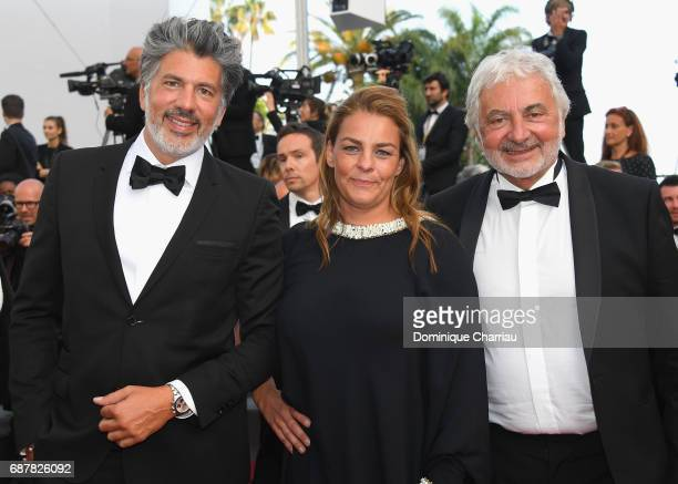 Franck Provost attends the 'The Beguiled' screening during the 70th annual Cannes Film Festival at Palais des Festivals on May 24 2017 in Cannes...