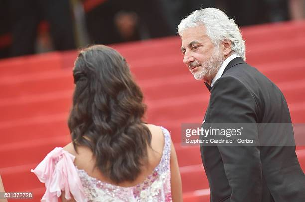 Franck Provost attends the 'The BFG' Premiere during the annual 69th Cannes Film Festival at the Palais des Festivals on May 14 2016 in Cannes France