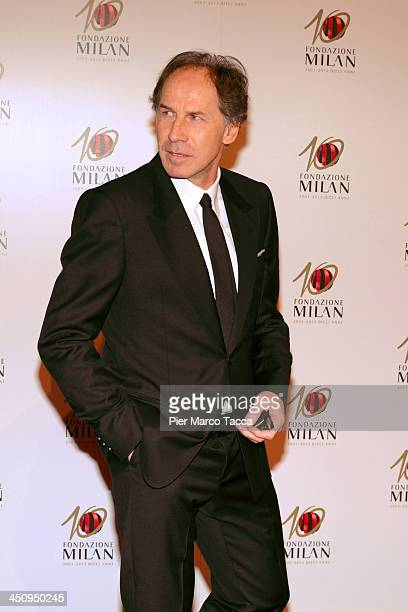 Franco Baresi attends the Fondazione Milan 10th Anniversary Gala photocall on November 20 2013 in Milan Italy