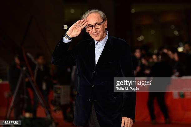 Franco Battiato attends the 8th Rome Film Festival at the Auditorium Parco Della Musica on November 13 2013 in Rome Italy
