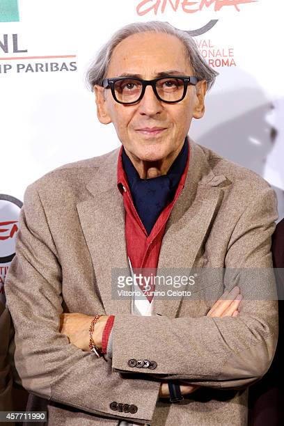 Franco Battiato attends the 'Due Volte Delta' Photocall during the 9th Rome Film Festival on October 23 2014 in Rome Italy