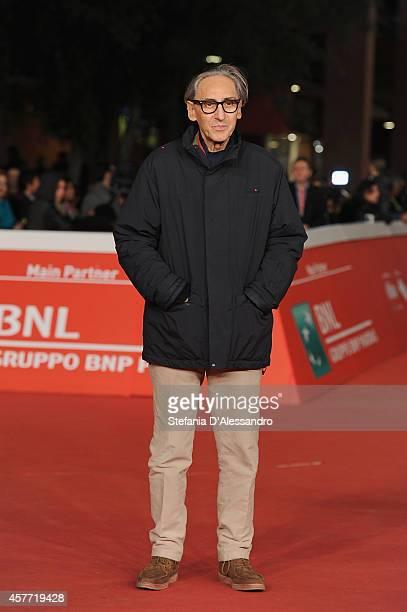 Franco Battiato attends the 'Due volte Delta' Red Carpet during the 9th Rome Film Festival on October 23 2014 in Rome Italy