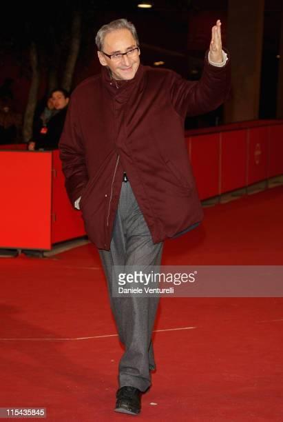 Franco Battiato attends the 'La Cravate' and 'Niente E Come Sembra' premiere during Day 5 of the 2nd Rome Film Festival on October 22 2007 in Rome...