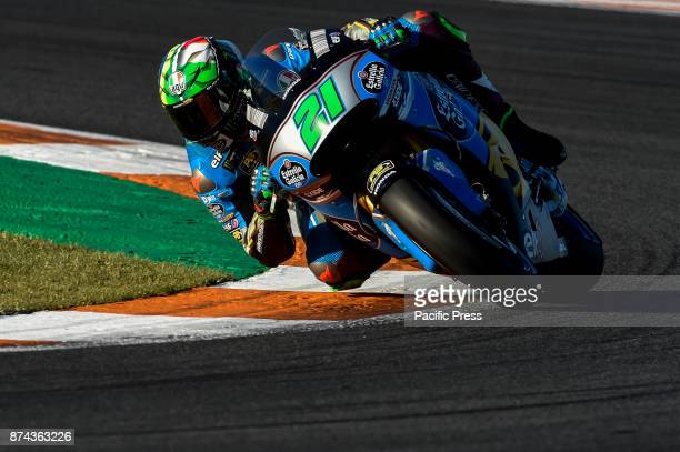 Franco Morbidelli during Motogp test day at Valencia circuit