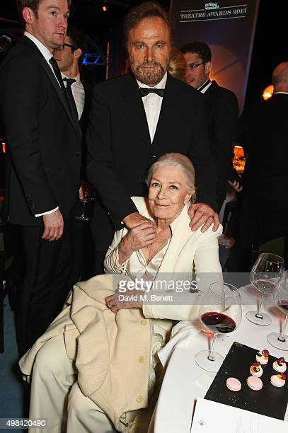 Franco Nero and Vanessa Redgrave attend The London Evening Standard Theatre Awards after party in partnership with The Ivy at The Old Vic Theatre on...