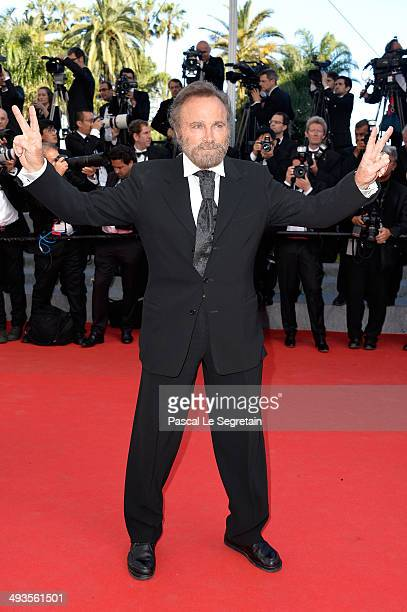 Franco Nero attends the Closing Ceremony and Fistful of Dollars Screening during the 67th Annual Cannes Film Festival on May 24 2014 in Cannes France