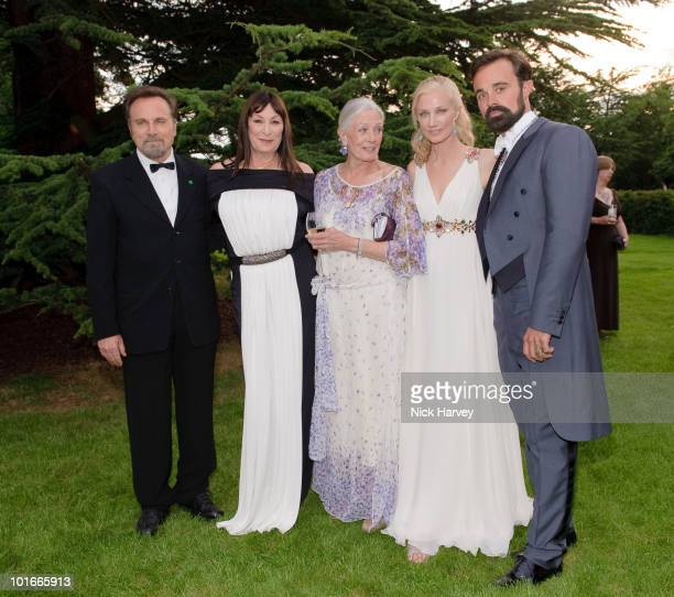 Franco Nero Vanessa Redgrave Joely Richardson and Evgeny Lebedev attend the annual Raisa Gorbachev Foundation Party at Stud House Hampton Court on...