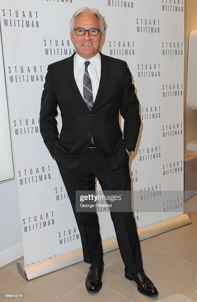 Franco Niro, owner of Stuart Weitzman Boutique in Toronto attends opening of Stuart Weitzman Boutique in Toronto on April 17, 2013 in Toronto Ontario Canada.