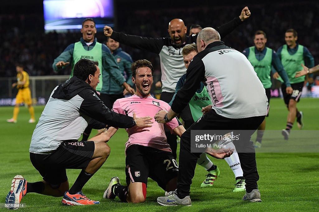 US Citta di Palermo v Hellas Verona FC - Serie A