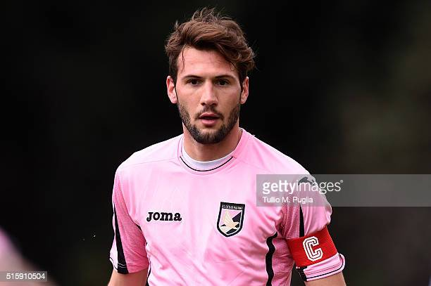 Franco Vazquez of Palermo in action during a test match between US Citta' di Palermo and Parmonval at Tenente Carmelo Onorato training center on...