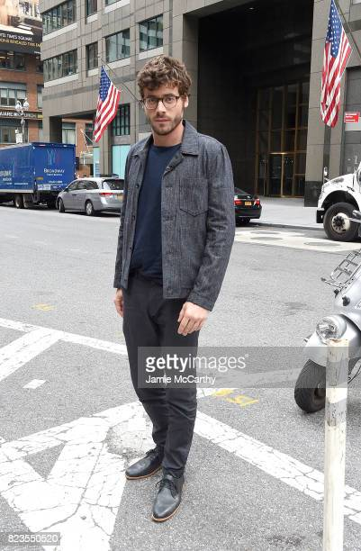 Francois Arnaud visits 'Extra' on July 27 2017 in New York City