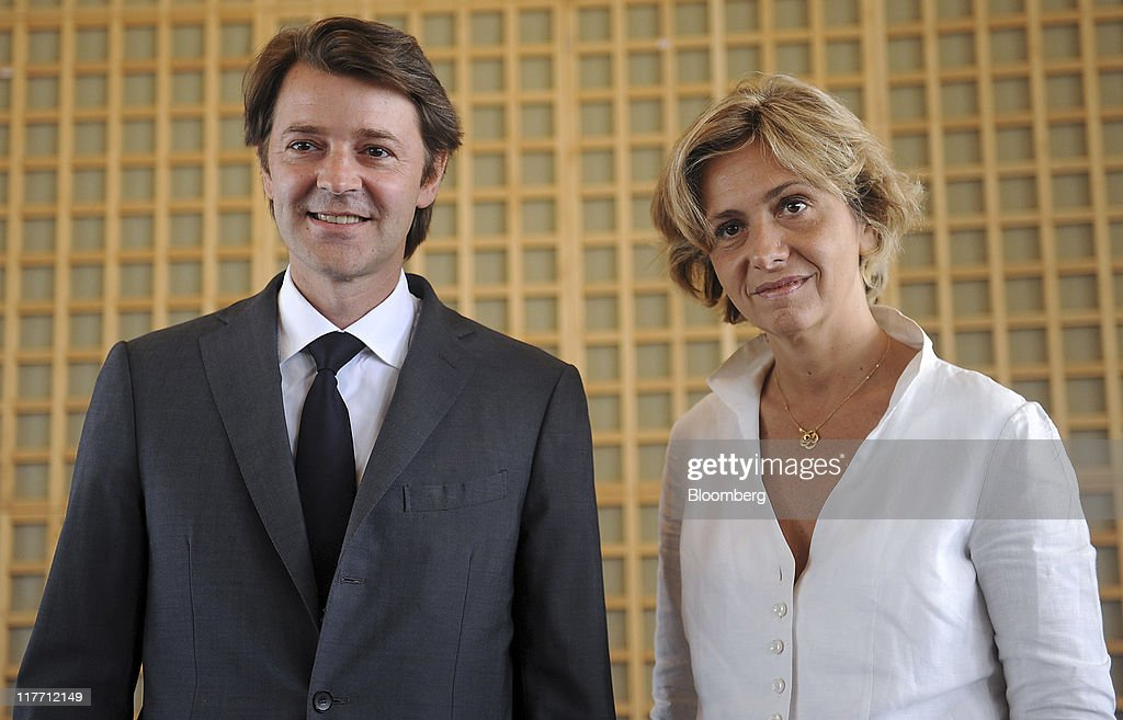 Christine Lagarde Welcomes New French Finance Minister Francois Baroin