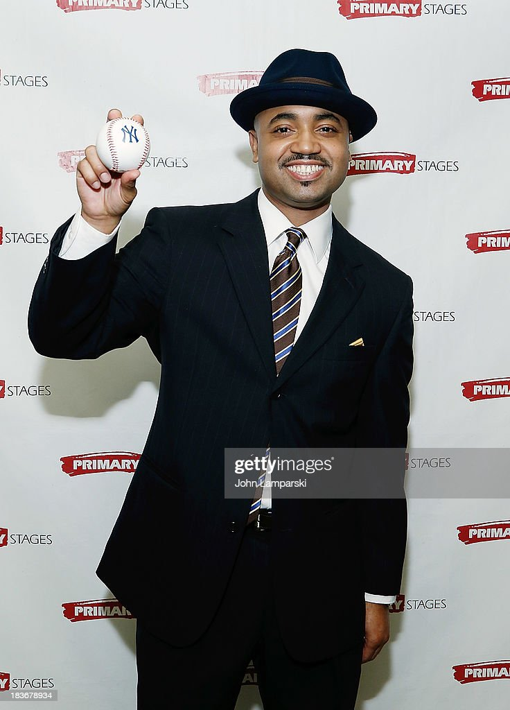 Francois Battiste attends 'Bronx Bombers' Opening Night - After Party at West Bank Cafe on October 8, 2013 in New York City.