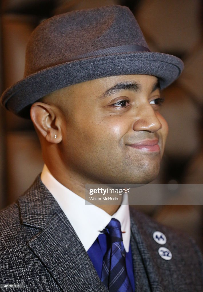 Francois Battiste attends the opening night after party for 'Bronx Bombers' on Broadway at The Edison Ballroom on February 6, 2014 in New York City.